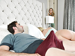 Natasha Starr is a bizarre perv. She sees in secret while her stepson licks his Bailey Brookes fuckbox and can tell she is fully not into it. Natasha lets him know that she can be the light to guide him to fuckbox munching prowess. She gets jealous, so th